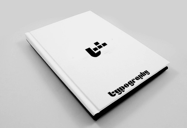 Typographic Book Cover Letter : Typography brochure design « typografika dessign theme