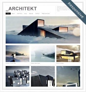 Architekt Theme Responsive - dessign