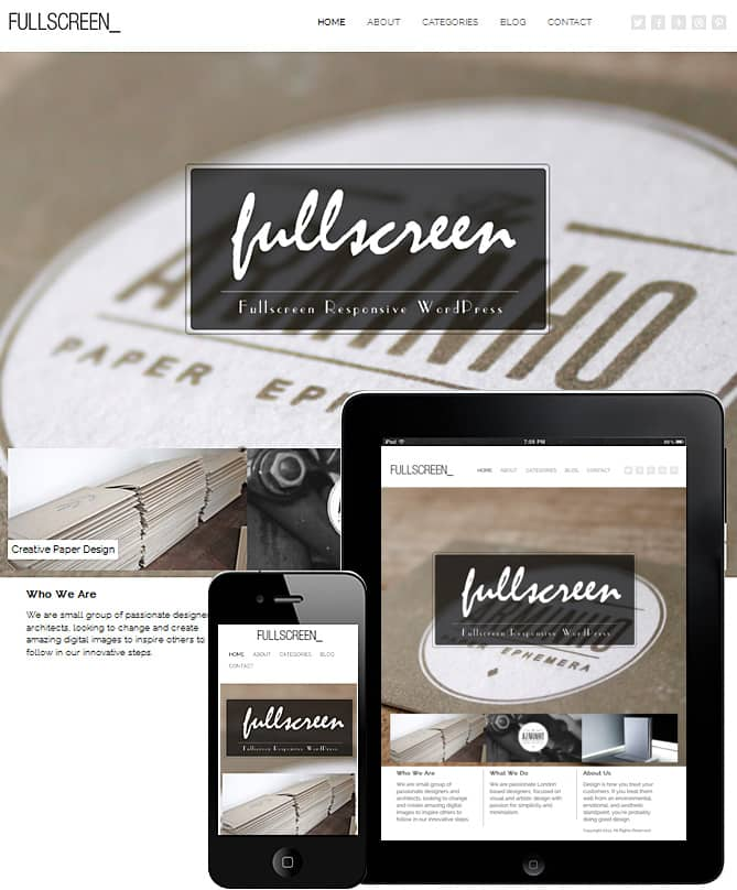 Fullscreen - Dessign