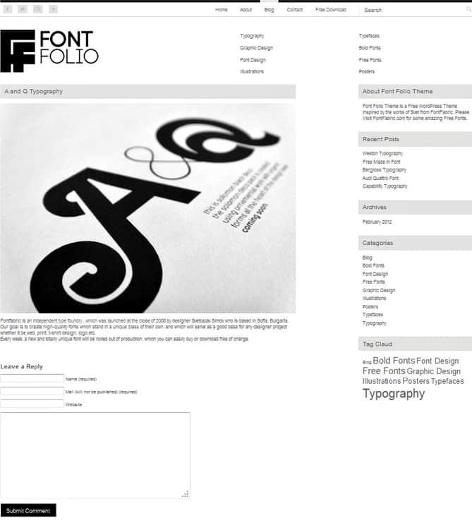 Graphic Design Portfolio     Using WordPress Themes MytJvkPk
