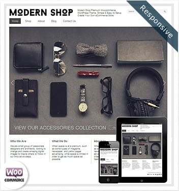 Modern Shop Woocommerce Theme - Dessign