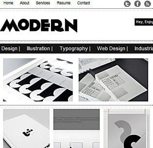 Modern Theme