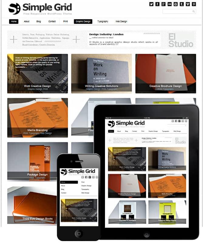 premium premium portfolio responsive wordpress themes dessign. Black Bedroom Furniture Sets. Home Design Ideas